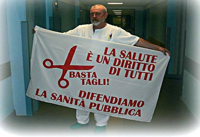 A sostegno delle lavoratrici e lavoratori Spallanzani